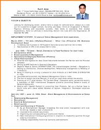 9 Format Of Indian Resume For Job Good New World