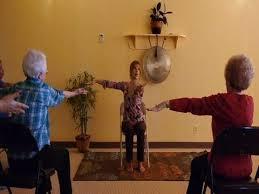 Easy Yoga For Beginners ~ Lively Chair Yoga Class with Tatis Cervantes  Aiken at Yoga Vista #4