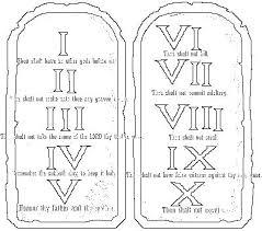 10 Commandments Coloring Pages Commandments Coloring Pages Appealing