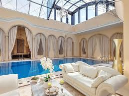 home indoor pool with slide. Plain Indoor Astounding Home Indoor Pool With Slide Curtain Concept On Luxury  Ideas_7jpg Design Inside