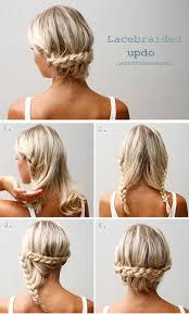 40 stylish updos for medium hair27 pinit
