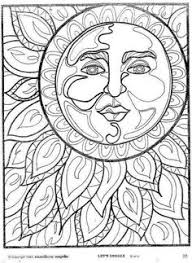 Small Picture Sun And Moon Coloring Pages My image Sense Coloring Pages for