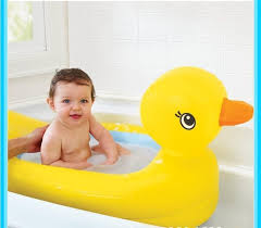 new fashion inflatable bath tub baby portable 0 2 years old infant bathtub foldable for children toddlers