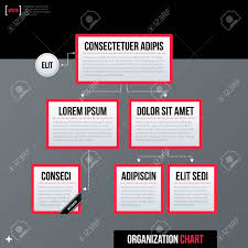 Neu Organizational Chart Modern Business Organization Chart Template White Rectangles