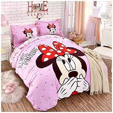 Amazon.com: Peachy Baby Featuring Disney Minnie Mouse Bedding Sheet ...