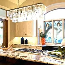 crystal kitchen island lighting chandelier options small for