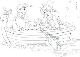 Coloring Pages Online Princess Page Pictures Of Large Size Mermaid