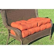outdoor settee cushions set of 3 clearance blazing needles wicker color