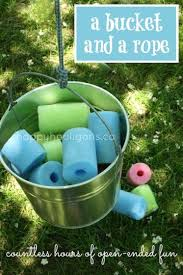 homemade outdoor games for kids. Bucket And Rope \ Homemade Outdoor Games For Kids