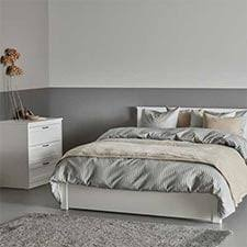 White ikea bedroom furniture Queen Bedroom White Songesand Bedroom Set In Gray And White Bedroom Ikea Bedroom Furniture Ikea