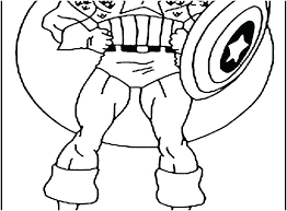 Captain America Civil War Coloring Pages Free Lego Printable Shield