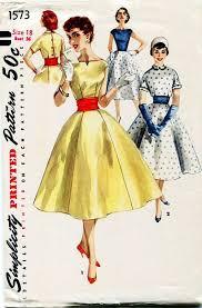 1950s Dress Patterns Unique Vintage 48s Dress Pattern Simplicity Timeless Pinterest