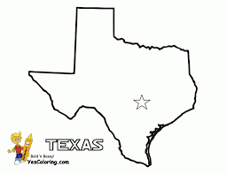 Texas State Seal Coloring Page At Texas Coloring Pages Coloring
