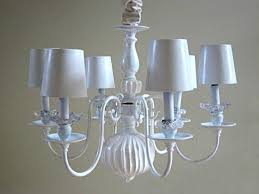 brass chandelier makeover save with chalk paint