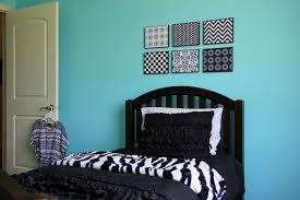 Light Blue Wallpaper Bedroom Modern Black And White And Blue Bedroom Art Light Blue Black And