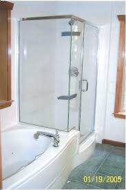 jetted tub shower combo delightful whirlpool and a walk jacuzzi bathtub combination jett