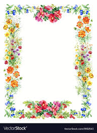 frame design vector. Perfect Design Floral And Decorative Frame Design Vector Image Inside Frame Design Vector R
