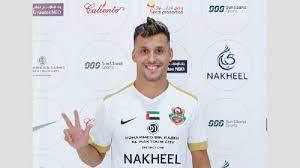 رقم مميز لنجم شباب أهلي دبي الإماراتي - التيار الاخضر