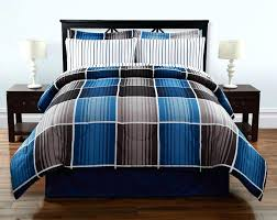blue ticking duvet cover navy twin bedding sets priscilla image with astonishing for boho comforters bohemian