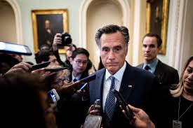 Trump suggested impeaching Sen. Mitt Romney. Now Romney gets to vote on Trump's  impeachment.