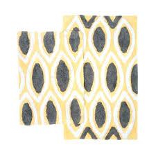 cool grey bath rugs yellow bathroom rugs grey and yellow bathroom rugs yellow and grey bath