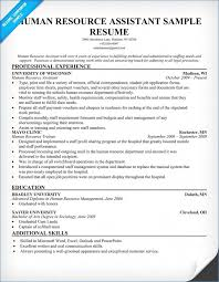 Hr Assistant Resume Summary Good Human Resources Assistant Resume