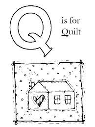 Q Is For Quilt Coloring Page Abcs - grig3.org & Number Coloring Pages Abcs Page Adamdwight.com