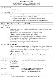 Cook Resume Examples Mesmerizing Resume Sample Prep Cook For Cook Resume Sample Chef Resume Sample