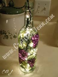 Decorative Wine Bottles With Lights Learn The Basic Tips and Tricks on How To Paint Glass 81
