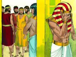 FreeBibleimages :: Joseph reunited with his family :: When his brothers return to Egypt for more grain, Joseph reveals his identity to them (Genesis 43-46)