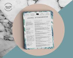 Resume Templates That Stand Out Laurel Stonebridge Resume Template Vol I Stand Out Shop 89
