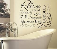 bathroom wall decor. Excellent Bathroom Wall Sayings Short Quotes Word Art Quote Decal: Decor