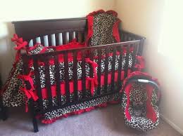 cheetah print and red bedroom photo 3