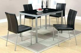 metal dining table sets stylish modern dining room design with seven pieces metal dining table sets