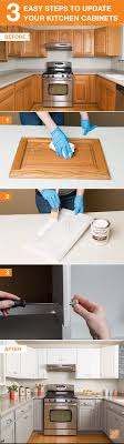 Get The Look Of New Kitchen Cabinets The Easy Way Home Sweet Home
