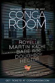 Conga Room Los Angeles  ClubZoneLa Live Conga Room