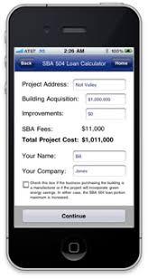 Sba 504 Loan Calculator Tmc Financing