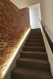 stair case lighting. Sky Loft / KUBE Architecture Stair Case Lighting R