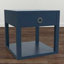 end bedside table