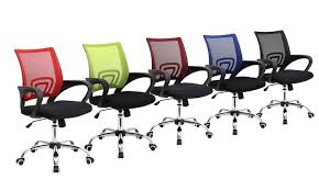 coloured office chairs. Groupon Goods Global GmbH Metro Mesh Office Chair In Choice Of Colour For 3998 Coloured Chairs R