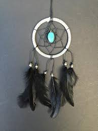 Dream Catchers For Your Car Gray Black Turquoise Stone Dream Catcher Car Mirror 5