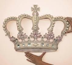 crown wall decor royal cast iron crown for king or queen or princess
