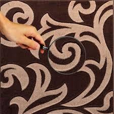 modern area brown beige rug for living room