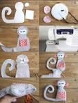 Как сделать мягкую игрушку обезьянку из ткани