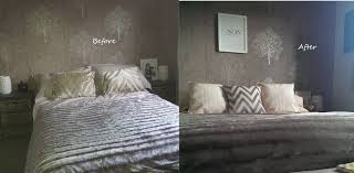Bedroom Makeover Before After With Bedroom Makeover