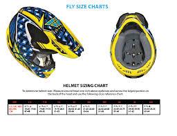 Fly Racing Helmets Sizing Chart Jt Racing Helmet Size Chart