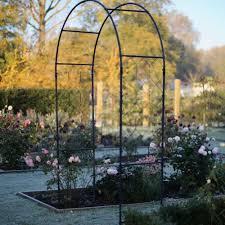 round garden arch from agriframes