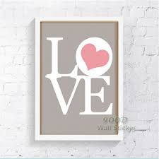 Love Quote Canvas Painting Poster Wall Pictures For Living Room Delectable Love Quote Canvas