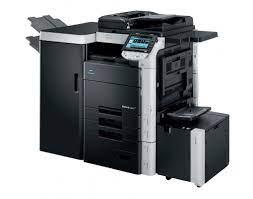 Displays the splash window (displayed momentarily when the software activates). Konica Minolta Bizhub C652 Colour Copier Printer Scanner