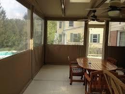 clear vinyl drop curtains enclosure porch enclosure